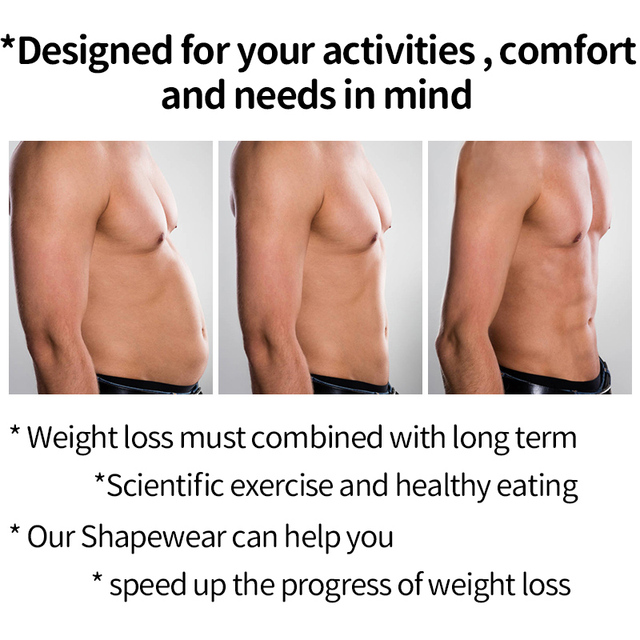 Mens Waist Trainer Weight Loss Body Shaper Belly Shapers Tummy Shapewear Abdomen Slim Girdle Promote Sweat Trimmer Belt Corset 4