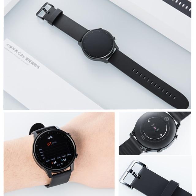 Original Xiaomi Smart Watch Color NFC 1.39'' AMOLED GPS Fitness Tracker 5ATM Waterproof Sport Heart Rate Monitor Mi Watch Color 4