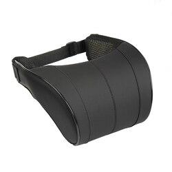 1 pièces 3 couleurs haute qualité en cuir PU Auto voiture cou oreiller mémoire mousse oreillers cou reste siège appuie-tête coussin
