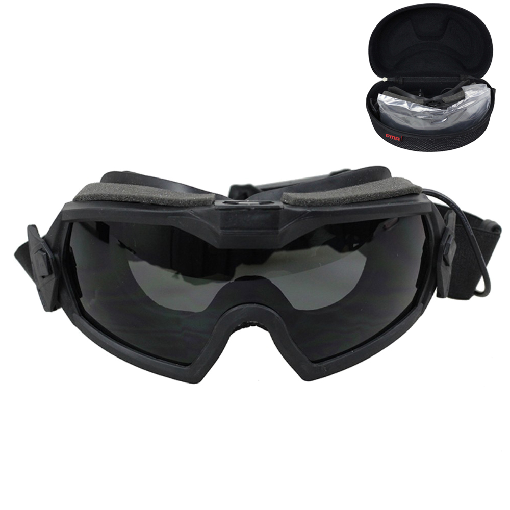 FMA Airsoft Goggles TacticalMilitaryShootingHikingUV Protection Glasses Paintball CS Fan Goggles Updated Version