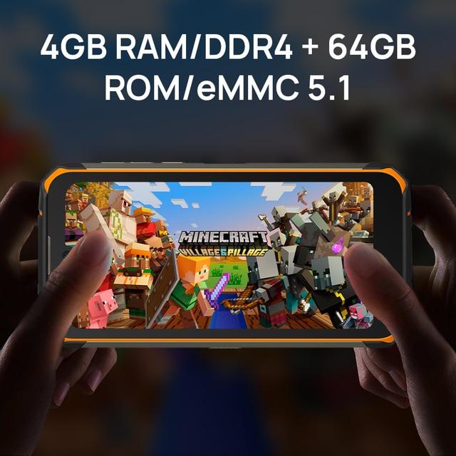 Смартфон DOOGEE S59, 4 + 64 ГБ, 10050 мАч