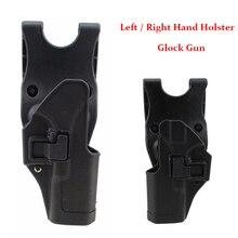 Tactical Gun Case Glock Accessories Conceal Carry Gun Belt Holster Airsoft Hunting Gun Glock 17 19 22 23 31 32 Gun Holster unbrand glock 17 18 19 23 32 36 tactical holster