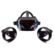 For Oculus Quest Accessories Skins Deadpool Oculus Quest VR Headset and Controller Decal Sticker Protective Durable,Unique(China)