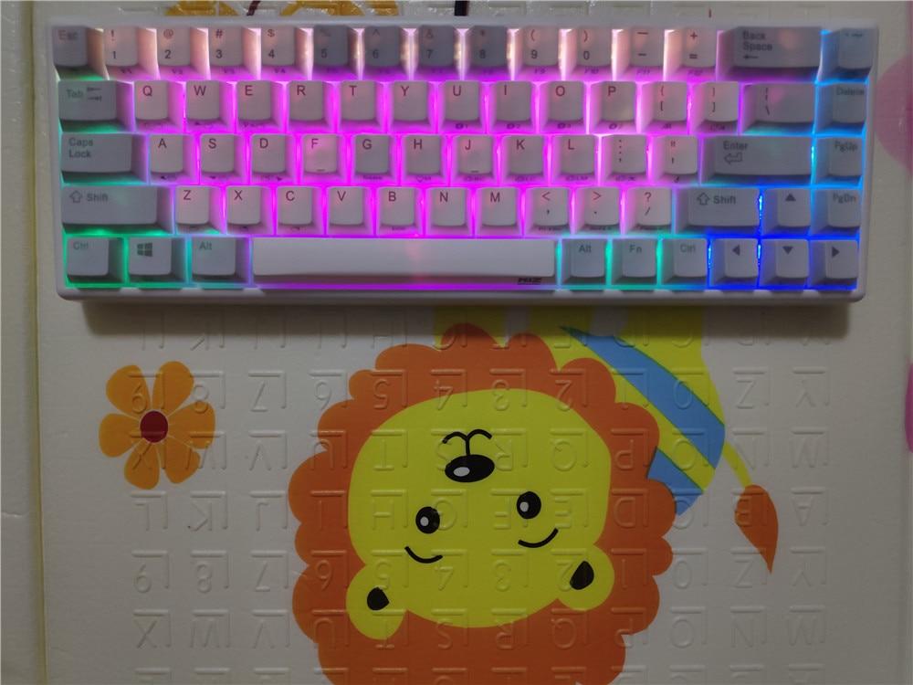 NIZ 68 Bluetooth Keyboard RGB Mechanical Keyboard Capacitive 35g Programmable Wireless Realforce Topre Type