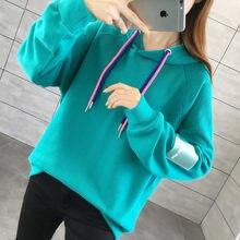 2020 primavera vestuário novo coreano-estilo solto-ajuste emagrecimento doce hoodie das mulheres moda/40