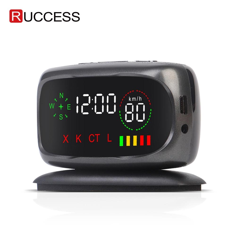 Ruccess S800 Car Radar Detector GPS Anti Radar Car Speed Detectors For Russia X K CT L Strelka Alarm System(China)