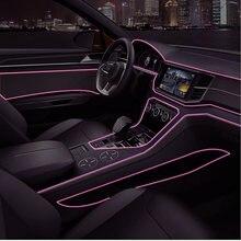 Автомобильный светодиодный светильник цветной атмосферный автомобильный