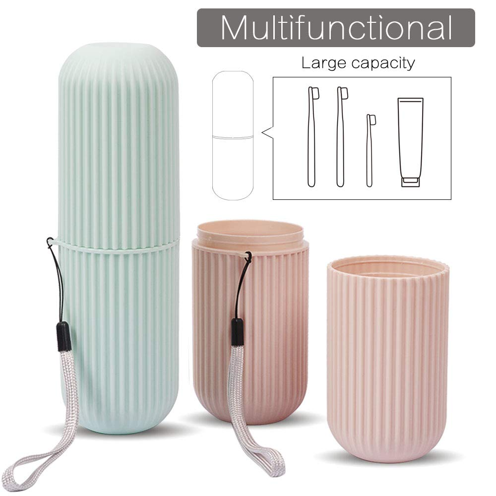 Travel Toothbrush Storage Box 1 Pack Portable Business Trips Wash Cup Holder Organizer For Trips And Daily Use Toothbrush Case image