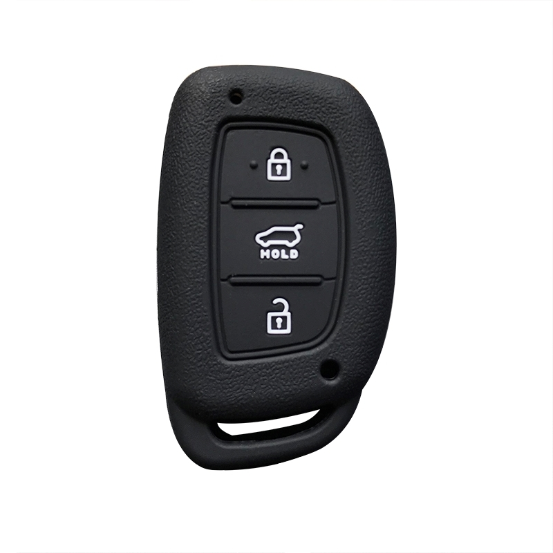 Key <font><b>Case</b></font> Solaris <font><b>For</b></font> <font><b>Hyundai</b></font> Silicone Car Key Cover <font><b>For</b></font> <font><b>Hyundai</b></font> <font><b>Tucson</b></font> Solaris Elantra Sonata Mistra Funda Llave <font><b>Tucson</b></font> <font><b>2019</b></font> Key image
