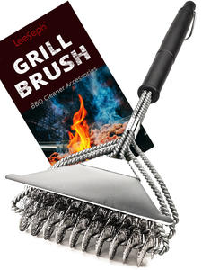 Grill-Brush Scraper Perfect-Tools Barbecue-Accessories Bbq-Cleaner Weber Ideal Best And