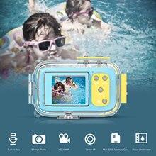 Fotocamera REFLEX digitale per I Bambini dei Capretti Mini Videocamere di Azione 2 In IPS Dello Schermo Educativi Giocattoli Del Bambino Impermeabile Antiurto Telecamere