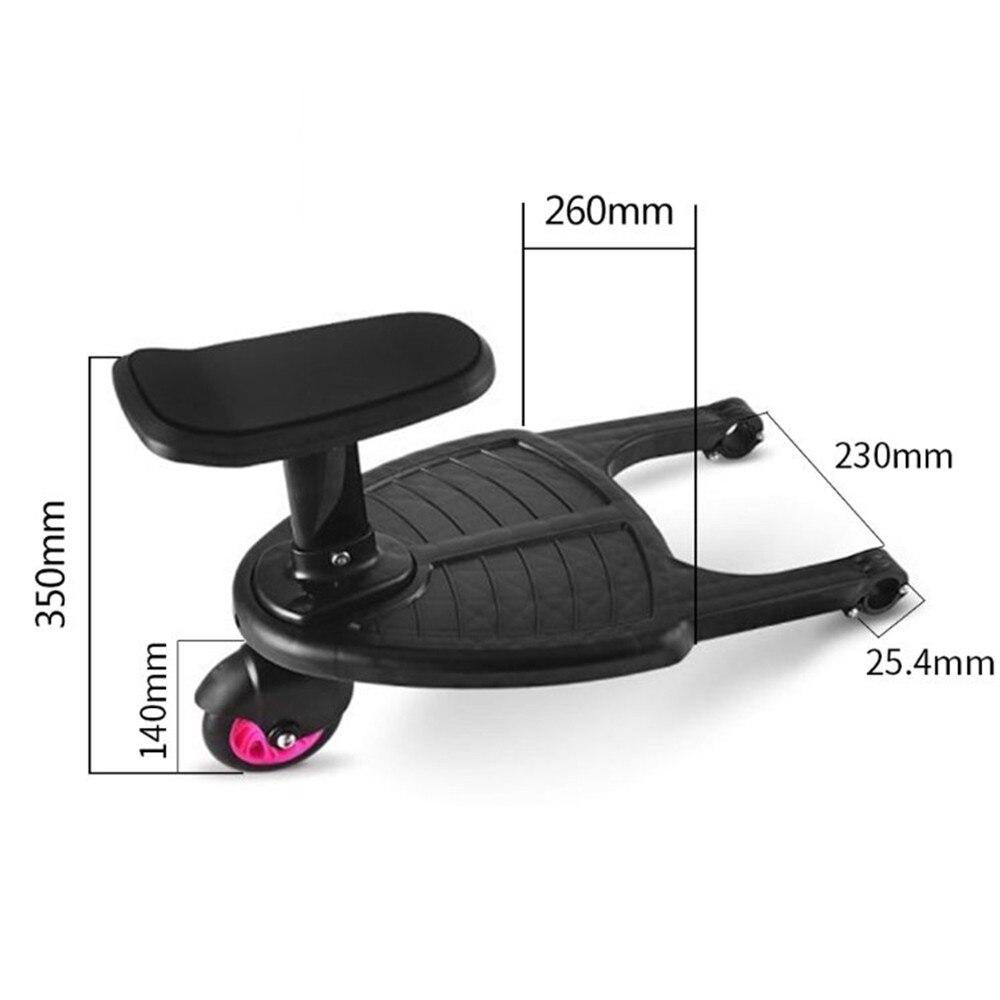 Аксессуары для коляски педали адаптер подвеска PP подвесной вспомогательное детское сиденье тележка на круглой подставке детская игрушка д... - 4
