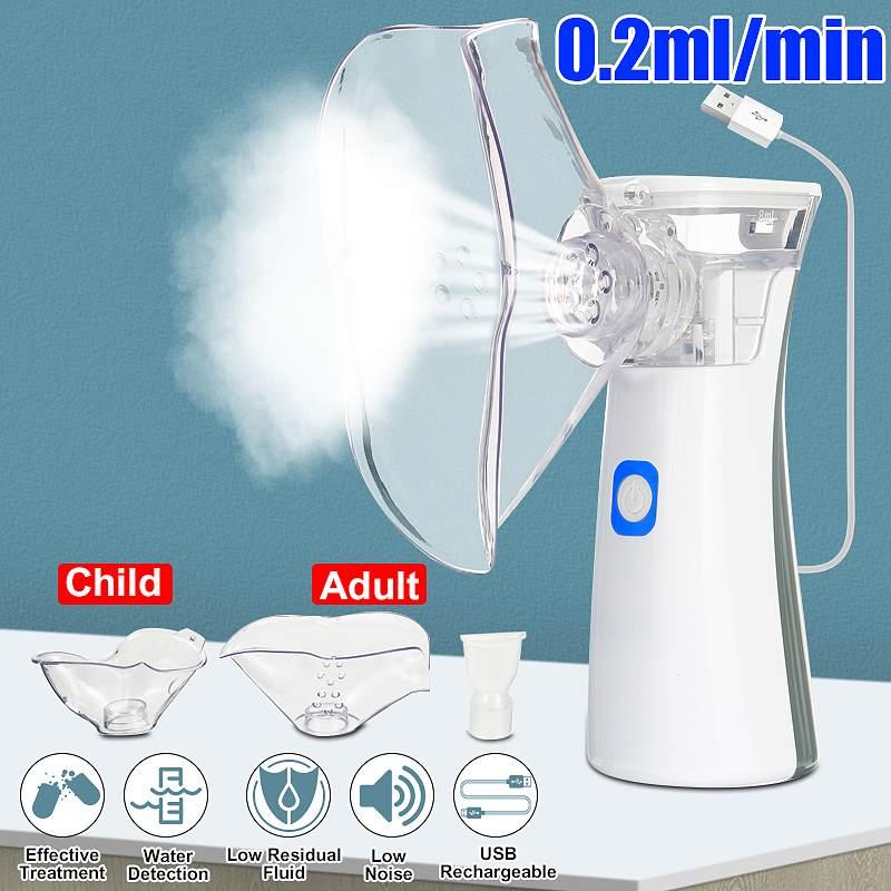 Portable nebulizer Mini Handheld inhaler nebulizer for kids Adult Atomizer nebulizador medical equipment Asthma Steaming Device