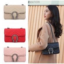 Famous Woman Bag Luxury Brand Plaid Pattern Fashion Pu Leather Chain Ladies Messenger Bag High Quality Ladies Shoulder Bag стоимость