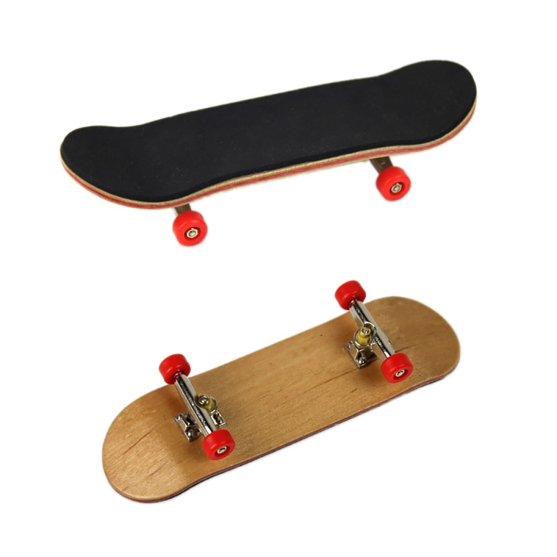 Kids Toys Adults Toys Professional Bearing Wheels Skid Pad Maple Wood Finger Skateboard Fingerboard Novelty Toys New