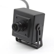 Mini HD Starlight 1080P AHD CVI TVI CVBS 4in1 Camera Quan Sát Sony NVP2441 + IMX307 IMX322 Đen Ánh Sáng An Toàn hộp