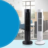Mini Portable USB Fan Summer Cooling Fan Bladeless Air Conditioner Cooling Cooler for Home Office Desk Tower Fan|Fans| |  -
