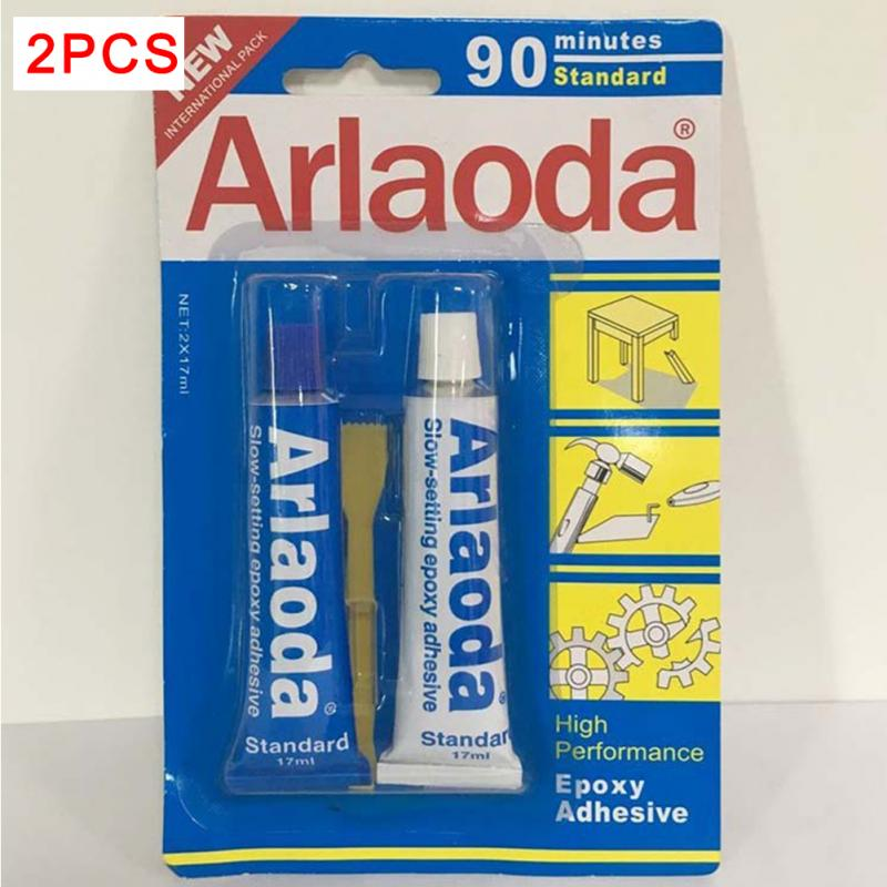 2 Minutes  Curing Super Liquid Araldite 2pcs/set 5/90 Minutes Metal Adhesive Stationery AB Epoxy AB Glue High Quality #0221