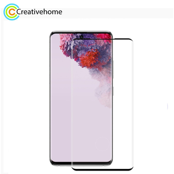 For Samsung galaxy S20 /S20+ /S20 Ultra ENKAY Hat-Prince 3D Explosion-proof Full Screen Curved Heat Bending Tempered Glass Film
