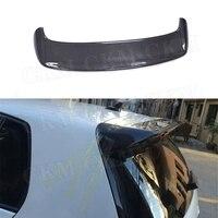 Carbon fiber Rear Spoiler Window Wings for Volkswagen VW Golf 6 MK6 VI Standard Spoiler 2010 2013 Not For GTI R