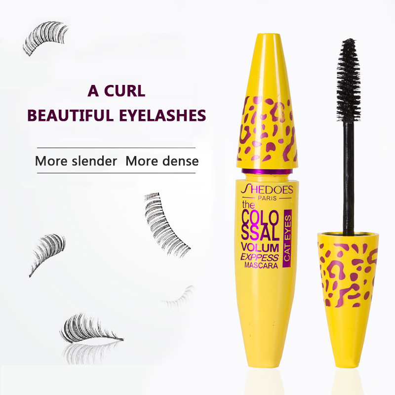 4D Makeup Cosmetic Length Extension Long Curling Eyelash Black Mascara Eyelash Lengthener Makeup Maquiagem Rimel Mascara