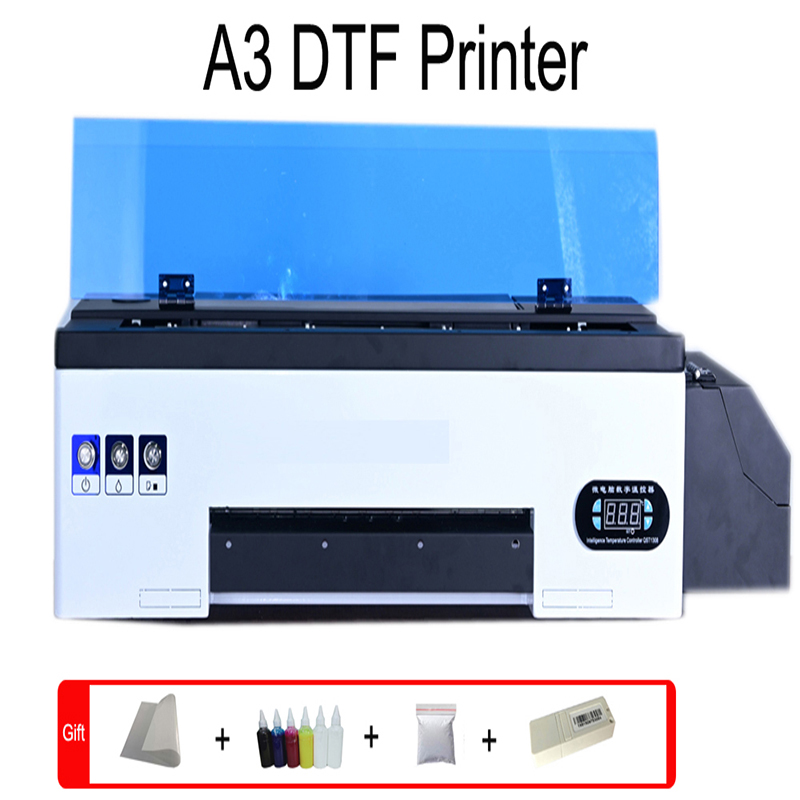 Lxhcoody dtf printer A3 dtf transfer film direct transfer film for t shirt jeans hoodies for all farbic printing dtf