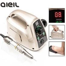 Eléctrico manicura taladro del clavo de la manicura máquina para manicura de aparatos para manicura eléctrica uña máquina de perforación
