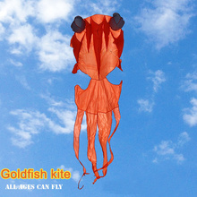 Animal Kite Flying-Tools Soft Single-Line Goldfish Outdoor Sports Children Fun with Gift