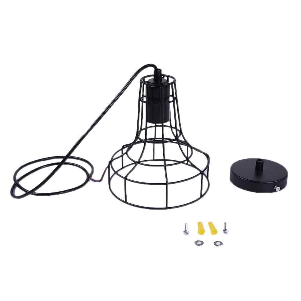 על מכירת רטרו תעשיית סגנון מתכת תליון מנורת בעל בציר סגנון ברזל תליית אור צל עבור חדר שינה סלון מלון