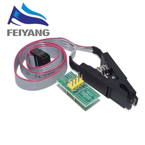 10pcs Smart Electronics CH340 CH340G CH341 CH341A 24 25 Series EEPROM Flash BIOS USB Programmer with Software & Driver Multan