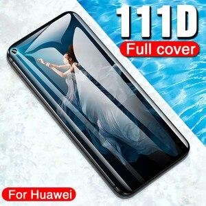 Image 5 - 111D 保護ガラス Huawei 社の名誉 20 プロ 10 Lite 8 9 V10 V20 強化ガラスのため 20 Lite スクリーンプロテクターフィルム
