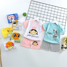 Fashion Summer Boys T Shirt Print clothes Infant Toddler Kids Girls T-Shirts Short Sleeve pajamas clothing Casual Cute Tops Tee цена 2017