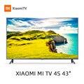 Xiaomi التلفزيون 4A 43 дюйма 4K الذكية التلفزيون 1G + 8G поддержка хранения miracast نيتفليكس DVB-T/T2 + C intellgent светодиодный телевизор