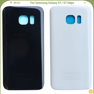 Image 3 - 10 PCS OEM S7 Battery Cover For Samsung Galaxy S7 G930F / S7 Edge G935F Back Cover Door Rear Cover Glass Housing Case