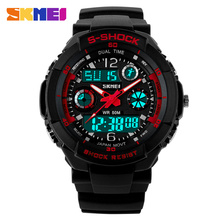 SKMEI Children Sports Watches Fashion LED Quartz Digital Watch