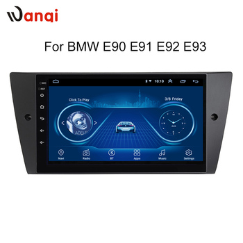 Android8.1 Car Radio Player For BMW E90/E91/E92/E93 Multimedia GPS Navigation Stereo Audio Head Unit Frame WiFi No DVD 1 DIN image