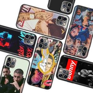 Bad Bunny Maluma Ozuna POP черный чехол для Apple iPhone 11 Pro XR 7 8 6 6S Plus X XS MAX 5 5S SE Мягкий ТПУ силиконовый чехол для телефона Ca