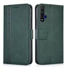 Portemonnee Lederen Case Op Huawei Nova 5 T 5 T YAL-L21, YAL-L61, YAL-L71, YAL-L61D 6.26 ''Cover Voor Huawei Nova 5 T Nova5 T Boek Case