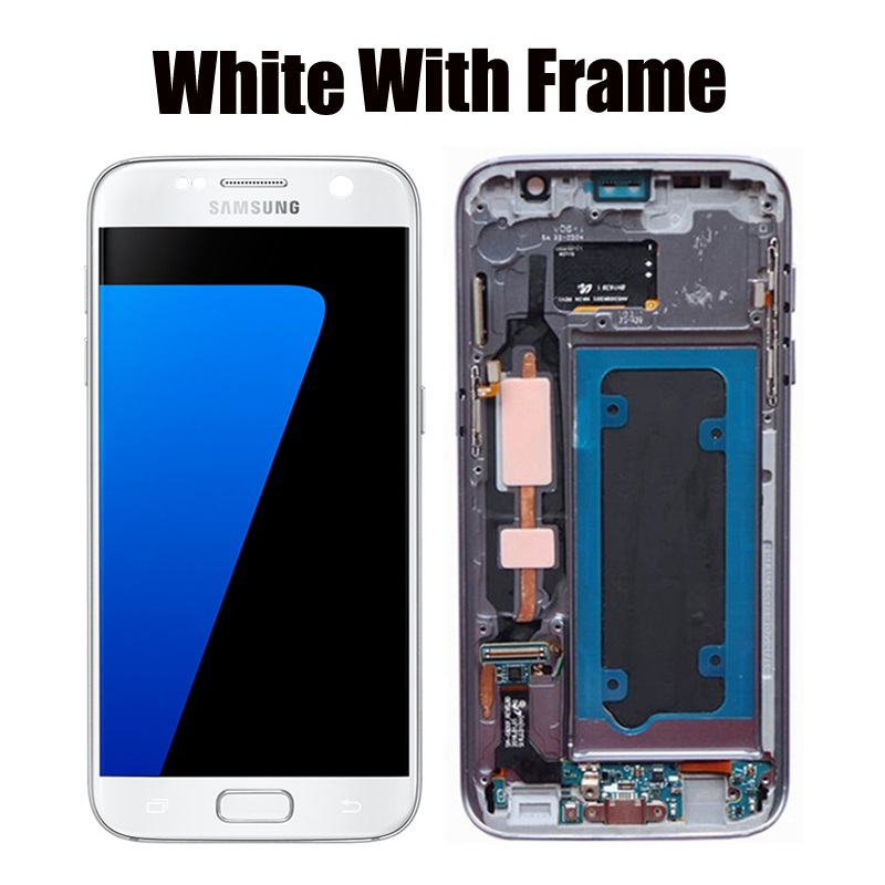 White With Frame