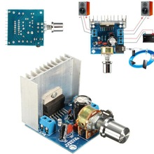 AC/DC 12V TDA7297 2*15W Digital Stereo Audio Amplifier DIY AMP Kit Module Amplifier Channel Board Motorcycle Dual Power H4H2
