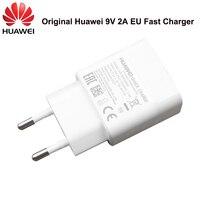 Huawei 9V2A EU Schnelle ladegerät QC 2,0 Schnell Ladung Adapter Micro USB/Typ C Kabel Für Taube 7 8 10Lite P8 P9 10Lite Ehre 8 9