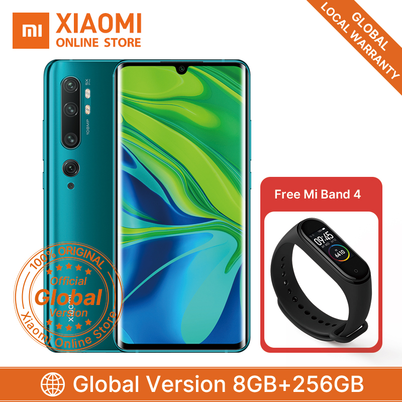 Global Version Xiaomi Mi Note 10 Pro 8GB 256GB  Smartphone Snapdragon 730G Octa Core 5260mAh 6.47