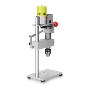 Image 5 - 100W Aluminum Workbench Repair Tools Universal Bench Clamp Drilling Press Stand Hand Manual Bench Rocker Adjustable Drill Stand
