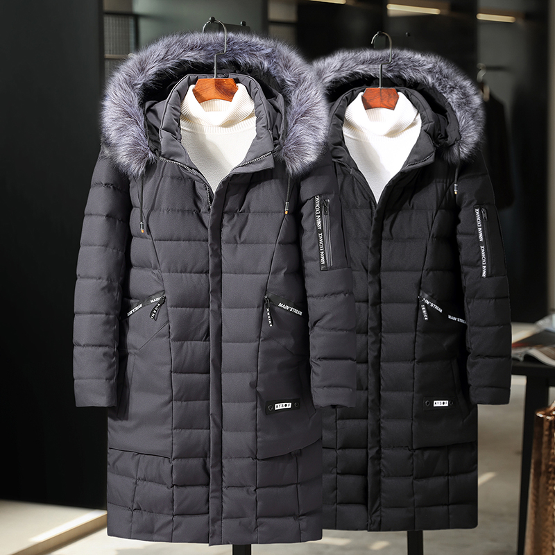 Plus Size 10XL 9XL 8XL 7XL 6XL 2019 New Arrival Winter Long Jacket Cotton Thick Male High Quality Casual Fashion  Parkas Coat