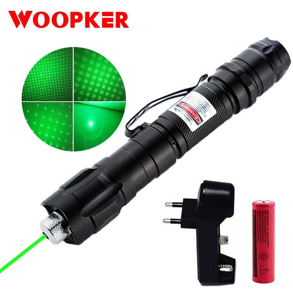 Laser Pen 1000m 5mW Green Lasers Sight Military Adjustable Focus Lazer Pen With Battery And Charger