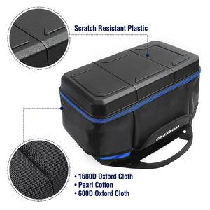"""Image 3 - WORKPRO 15 """"أداة حقيبة التخزين واسعة الفم مجموعة أدوات حقيبة 1680D مقاوم للماء أداة منظم سعة كبيرة"""