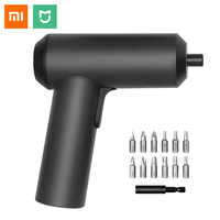 Original Xiaomi Mijia Cordless Rechargeable Electric Screwdriver With 12Pcs S2 Screw Bits 5N.m Electric Screw Driver Storage Box