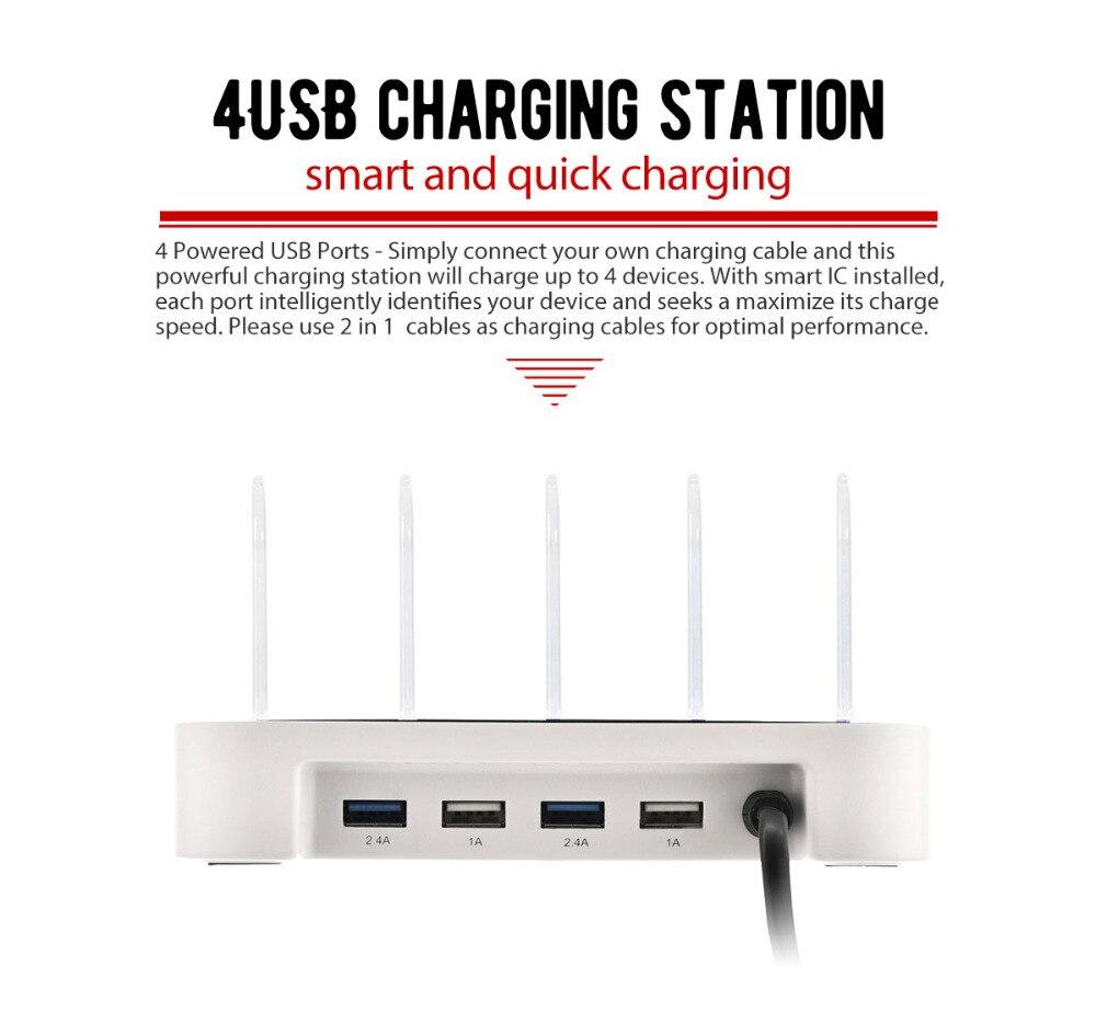 Σταθμός φόρτισης USB γενικής χρήσης - Ανταλλακτικά και αξεσουάρ κινητών τηλεφώνων - Φωτογραφία 4