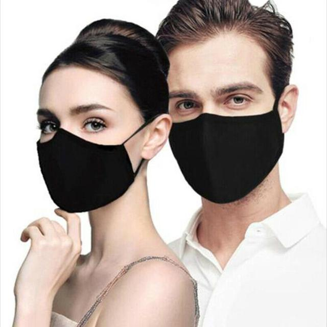 PM2.5 Cotton Adult Mouth Mask Anti Dust Mask Activated Carbon Filter Windproof Mouth-muffle Bacteria Proof Flu Ride Face Masks 1