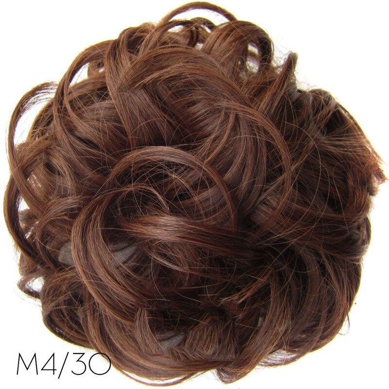 Новые женские высокотемпературные эластичные волнистые кудрявые синтетические шиньоны, аксессуары для волос для женщин и девушек, вечерние